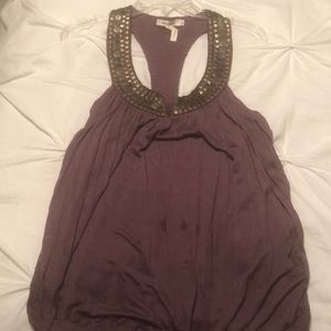 Tops - Purple sequin top